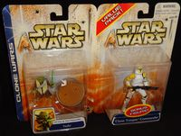 Star Wars Clone Wars: Army of the Republic Yoda Value Pack With Clone Trooper Commander Bonus Figure